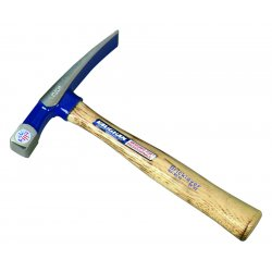 Vaughan - BL24 - Vaughan 24 OZ Bricklayer's Hammer - Forged Steel, Hickory - 1.88 lb - 4 / Carton