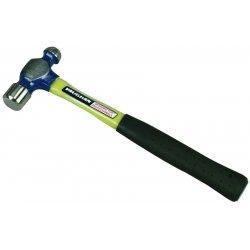 Vaughan - FS224 - Ball Pein Hammer, Head Weight (Oz.) 24, Fiberglass Handle, Overall Length (In.) 16
