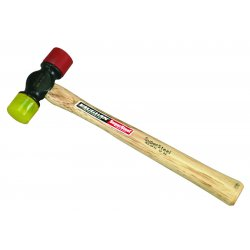 Vaughan - SF12 - Nylon Soft Face Hammer, 12 oz. Head Weight, Hickory Handle Material