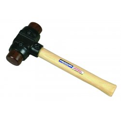 Vaughan - SH200 - Rawhide Split Head Hammer, 4 lb. Head Weight, Hickory Handle Material