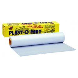 "Warp Brothers - PM100 - 30""x100' Roll Clear Floor Runner Plast-o-mat"