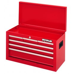 Waterloo - ML-600 - Chest Top Waterloo Industries Shop Series 15.38 In Hx26.06 In Wx12 In D Steel Red, EA