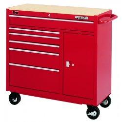 Waterloo - TRX4106 - 6 Drawer Traxx Maintenance Tool Cart, Ea