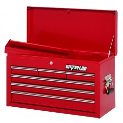 Waterloo - WI-600 - Tool Cabinet Pro Series 6 Drawer Chest Waterloo 14 3/4 In. Hx26 In. W Steel, EA