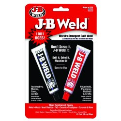 J-B Weld - 8265-S - Epoxy Adhesive, 1.00 oz. Tube, Gray, Work Life: 30 min.