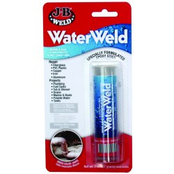 J-B Weld - 8277 - 2 oz. Epoxy Putty with Temp. Range of Up to 250 Degrees F, Off-White