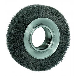 Weiler - 03200 - Arbor Hole Wire Wheel Brush, Crimped Wire, 10 Brush Dia.