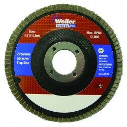 Weiler - 31413 - Vortec Pro Abrasive Flap Discs (Case of 10)