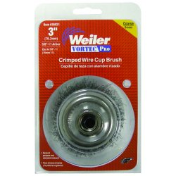 Weiler - 36233 - Vortec Pro Crimped Wire Cup Brushes (Each)