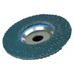 Weiler - 50644 - Tiger Disc Angled Style Flap Discs - Phenolic backing (Each)