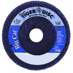 Weiler - 50844 - 7 Arbor Mount Flap Disc, Type 27, Zirconia Alumina, 60 Grit, 5/8-11 Mounting Size