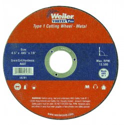 Weiler - 56017 - Vortec Pro Small Type 1 Reinforced Wheels (Each)