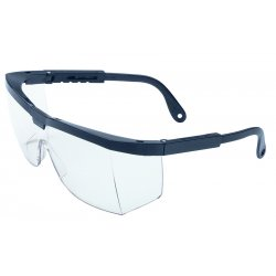 Honeywell - A220 - North by Honeywell A200 Wilson Safety Glasses With Patriot Red, White And Blue Nylon Frame And Clear Polycarbonate Anti-Scratch Hard Coat Lens