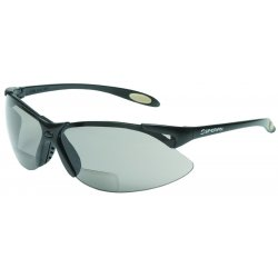 Honeywell - A960 - North by Honeywell A900 Wilson 1.5 Diopter Safety Glasses With Black Polycarbonate Frame And Gray Polycarbonate TSR Anti-Scratch Hard Coat Lens