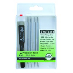 Wiha Quality Tools - 26996 - 5-pc Interchangeable Precision Blade Set Slotted