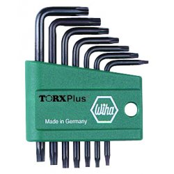 Wiha Quality Tools - 36197 - Torx Plus Short Arm Key Set 7pc Wiha (moq=10)
