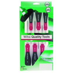 Wiha Quality Tools - 36291 - 6-pc. Torx Screwdriver Set Softfinish