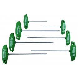 Wiha Quality Tools - 36492 - 7-pc T-handle Torx Set T9-t10-t15-