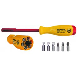 Wiha Quality Tools - 38006 - Multi-Bit Screwdriver Sets, Insulated