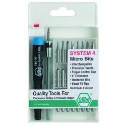 Wiha Quality Tools - 75991 - System 4 Technician's Micro Bit Set, 27 pc.