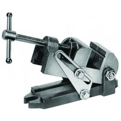 Wilton - 12870 - Vise, Drill Press, Angle, 30A, Jaw 3 1/8In