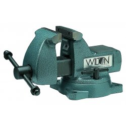 Wilton - 21400 - Wilton 21400 740 Series 5' Jaw Mechanic Vise 5.25' Opening 3.75' Depth - 21400