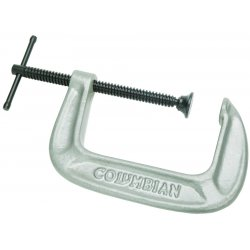 Wilton - 41407 - 140 Series C-Clamp, 0 In. to 5 In. Jaw Opening, 3 In. Throat Depth