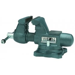 Wilton - 63201 - Wilton Tradesman 1' X 6 1/2' X 6 1/2' Jaw 1/4' - 3 1/2' Pipe Round Channel Vise With Swivel Base, ( Each )