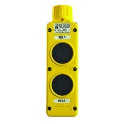 Daniel Woodhead - 4052 - E-z Grip 2-button Pushbutton Control Sta, Ea