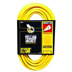 Woods Wire - 2805 - 50' 10/3 Sjtw-a Yellow Ext. Cord