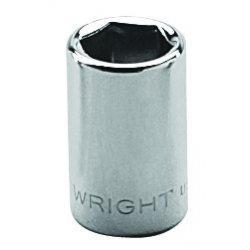 "Wright Tool - 20-05MM - 5mm 1/4""dr 6pt Std Metric Socket, Ea"