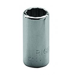 "Wright Tool - 2110 - 5/16"" 1/4""dr Standard Socket 12-point, Ea"