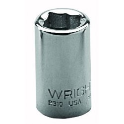 "Wright Tool - 2308 - 1/4"" 1/4""dr 8pt Sq Std Socket, Ea"