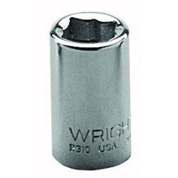"Wright Tool - 2312 - 3/8"" 1/4""dr 8pt Sq Std Socket, Ea"