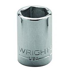 "Wright Tool - 3018 - 9/16"" 3/8""dr 6pt Std Socket, Ea"