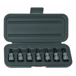 "Wright Tool - 305 - 3/8"" Dr 7 Pc Allen Set1/8"" - 3/8"""