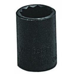 "Wright Tool - 33116 - 1/2"" 3/8dr Standard Socket 12 Pt., Ea"