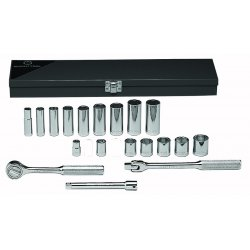 "Wright Tool - 337 - 20pc. 3/8""dr. Socket Set6-point Sta"