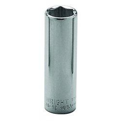 "Wright Tool - 35-17MM - 17mm 3/8"" Dr 6pt Deep Metric Socket, Ea"