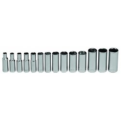"Wright Tool - 355 - 3/8""dr 14pc Deep Metrictray Set 6mm - 1"
