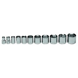 Wright Tool - 379 - 3/8 In. Drive 11 pc. Special 8 pt Socket Set