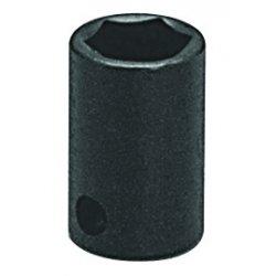 "Wright Tool - 38-09MM - 9mm 3/8""dr 6pt Std Impact Metric Sock, Ea"