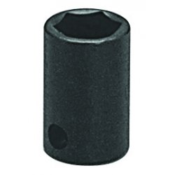 "Wright Tool - 38-19MM - 19mm 3/8""dr 6pt Std Impact Metric Sock, Ea"