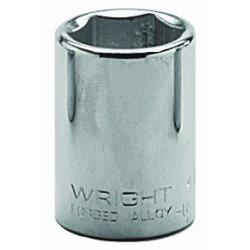 "Wright Tool - 4024 - 3/4"" 1/2""dr 6pt Std Socket, Ea"