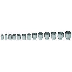 "Wright Tool - 450 - 1/2""dr 13pc 10pt Socketset 7/16""-1-1/4"