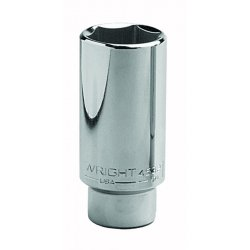 Wright Tool - 4518 - Wright Tool 1/2' X 9/16' Chrome Plated Alloy Steel 6 Point Deep Impact Socket, ( Each )