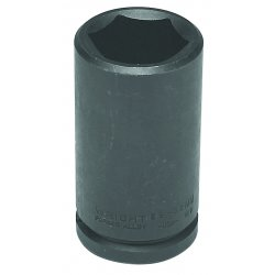 "Wright Tool - 69-24MM - 24mm 3/4"" Drive 6 Pointdeep Metric Imp. Socket, Ea"