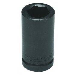 Wright Tool - 6954 - Wright Tool 3/4' X 1 11/16' Black Alloy Steel 6 Point Deep Impact Socket, ( Each )