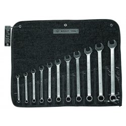 "Wright Tool - 711 - 11pc Combination Wr Set3/8"" - 1"" 12 Pt"