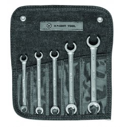 Wright Tool - 744 - 5pc. Flare Nut Wrench Set 9-11mm- 10-